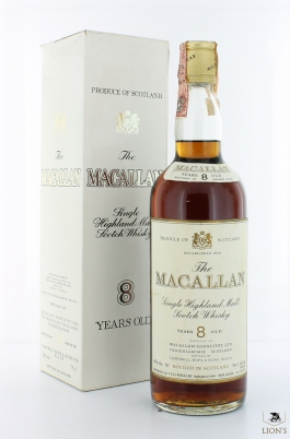 Macallan 8 Years Old metal cap