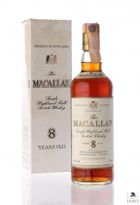 Macallan 8yo 43% 75cl Rinaldi imp. tappo plastica