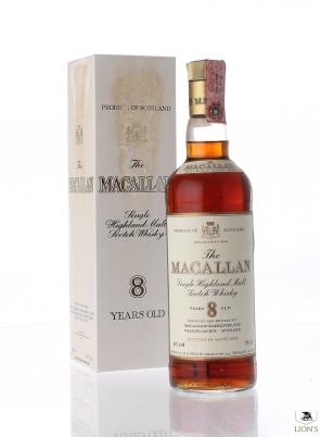 Macallan 8yo Rinaldi imp. plastic cap