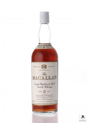 Macallan 8yo Rinaldi imp. White Cap