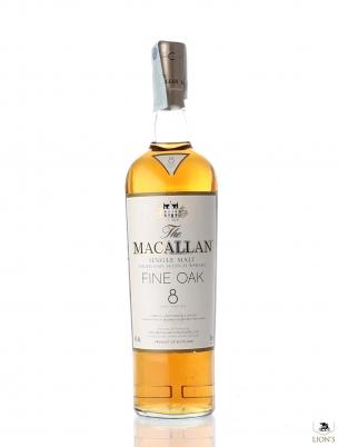 Macallan 8 years old fine oak 1 litre