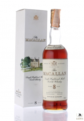 Macallan 8 years old Imported by COPPO