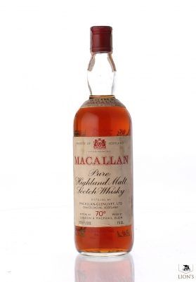 Macallan De Luxe 12 years old G&M