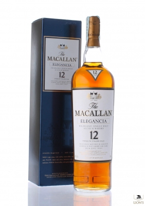 Macallan elegancia 12 years old Litre