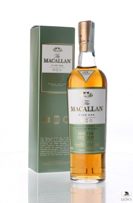 Macallan Fine oak Master's Edition