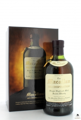 Macallan replica 1851 inspiration, neck label