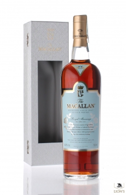 Macallan Royal Marriage of Prince William to C. Middleton