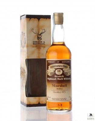 Macduff 1975 11 years old Connoisseurs Choice