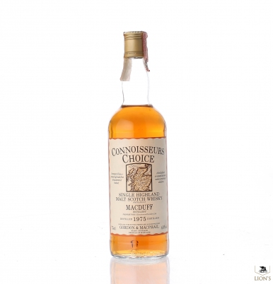 Macduff 1975 Connoisseurs choice