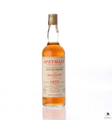 Macduff 1975 SPEYMALT