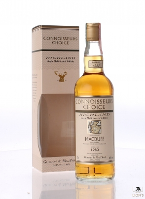 Macduff 1980 G&M Connoisseurs Choice