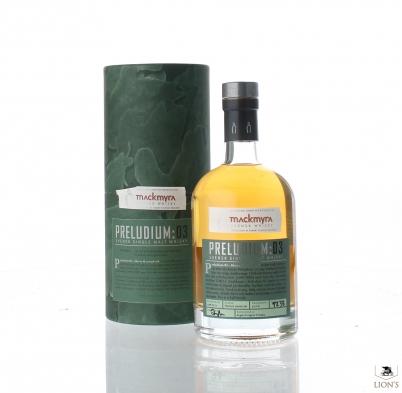 Mackmyra Preludium 3 cask 1238 52.2%