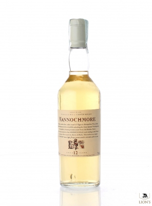 Mannochmore 12 Years Old Flora & Fauna White Cap
