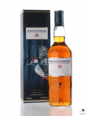 Mannochmore 1990 25 years old 53.4%