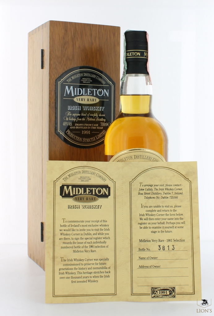 midleton very rare irish whiskey b1991 one of the best. Black Bedroom Furniture Sets. Home Design Ideas