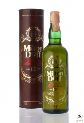 Milton Duff 12 years old 75cl