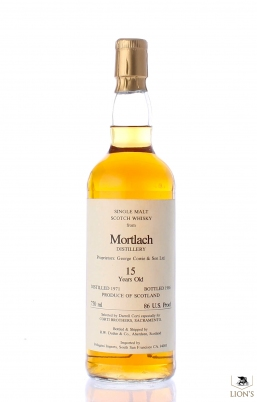 Mortlach 1971 15 years old Duthie for Corti