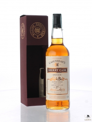 Mortlach 1988 27 years old 52.5% Cadenhead's