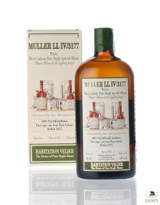 Muller LL IV/3177 white Marie Galante Rum 59% Habitation Velier