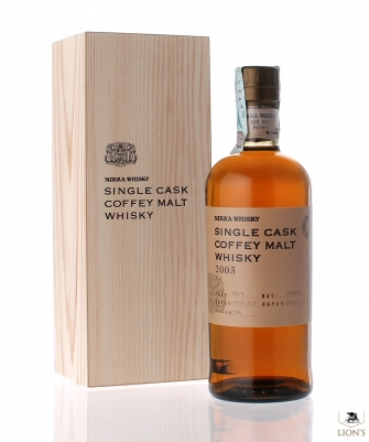 Nikka 2003 58% Single cask Coffey malt