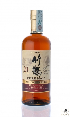 Nikka Taketsuru 21 years old Non-chill Filtered