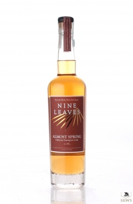 Nine Leaves RUM almost spring cabernet sauvignon cask