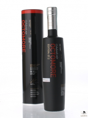 Octomore 5 years old 58.55 edition 7.2