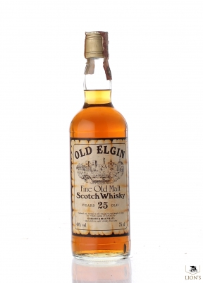 Old Elgin 25yo 40% 75cl