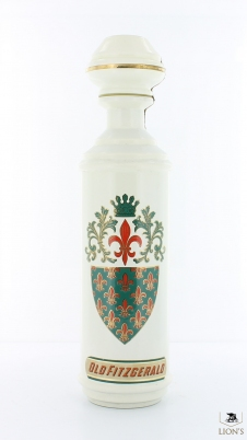 Old Fitzgerald 43% 75cl painted bottle ceramic