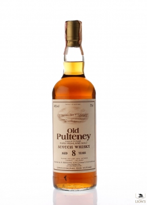 Old Pulteney 8 years old