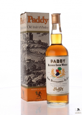 Paddy irish whisky 1960's.