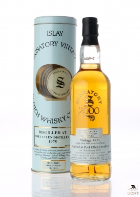 Port Ellen 1975 25 years old Signatory