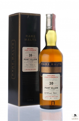 Port Ellen 1978 20 years old Rare Malts