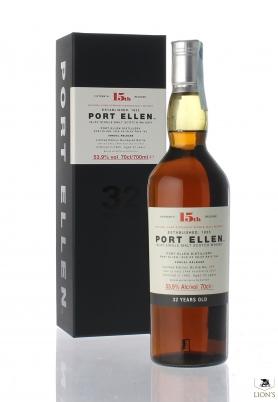 Port Ellen 1983 32yo 53.9% 15th Release