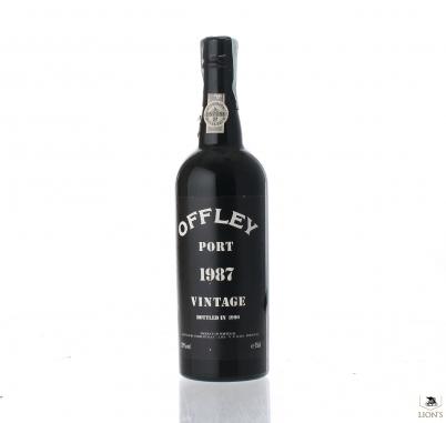 Porto Offley 1987 B1990 20% 75cl