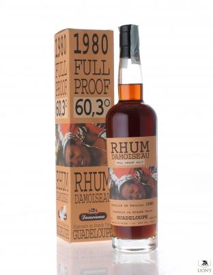 Rhum Damoiseau 1980 60.3% 70cl B2002 Guadeloupe
