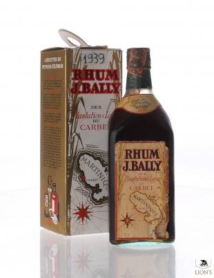 Rhum J.Bally 1939