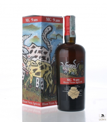 Rhum Vieux Agricole MG 9 years Velier