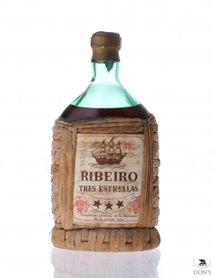Ribeiro Tres estrellas Spanish Brandy