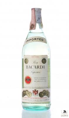 Rum Bacardi Superior 1 litre