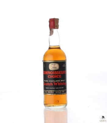 Royal Brackla 1969 10 Years Old Connoisseur's Choice