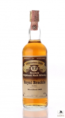 Royal Brackla 1969 CC G&M Brown Lable