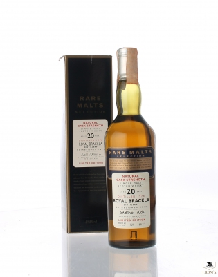 Royal Brackla 1978 20yo Rare Malts