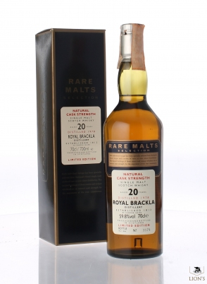 Royal Brackla 1978 20 years old Rare Malts