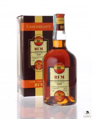 Rum 2005 9yo 64.6% SFBT Cadenhead's
