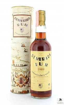 Rum Demerara 1989 Sherry Wood Moon