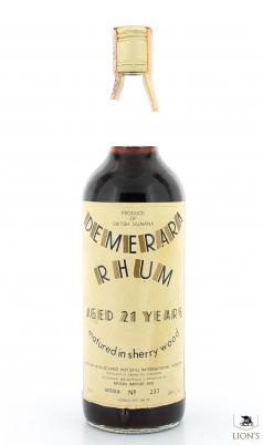 Rum Demerara 21 Years Old 600 Bottles Moon