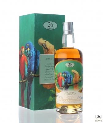 Rum Demerara UITVLUGT 1990 26yo 51% Silver Seal
