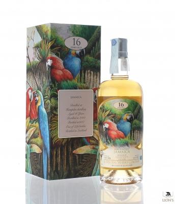 Rum Jamaica Hampden 2000 16yo 51% Silver Seal