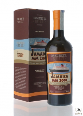 Rum Jamaica MM 2007 66.4% Transcontinental